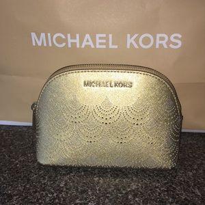NWT Michael Kors small makeup bag